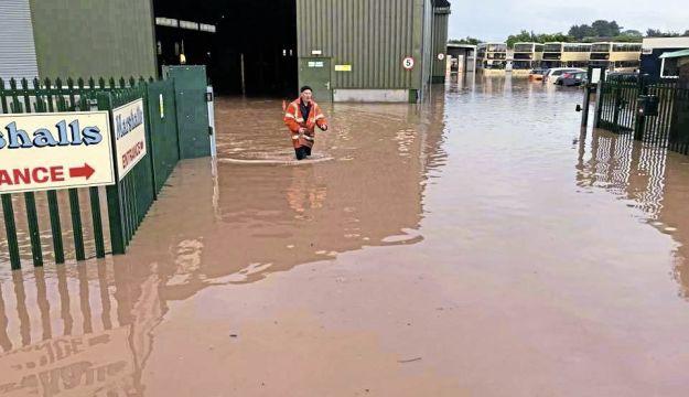 Marshalls battles through flood