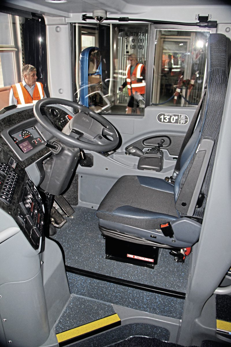 The Panorama cab