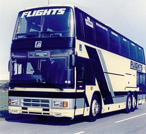 The biggest customer for the Volvo B10MT based Paramount 4000RS was Flights