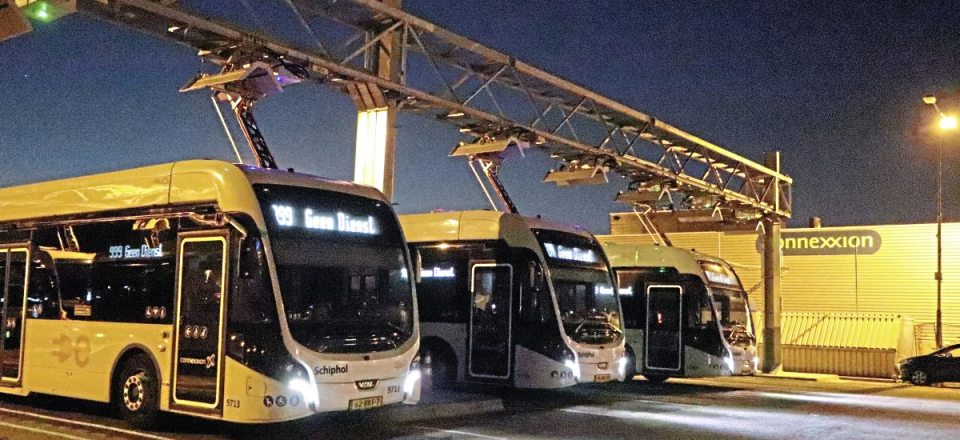 Some of the VDL Citea SLFA-181 Electrics at the Schiphol Cateringweg depot-img1