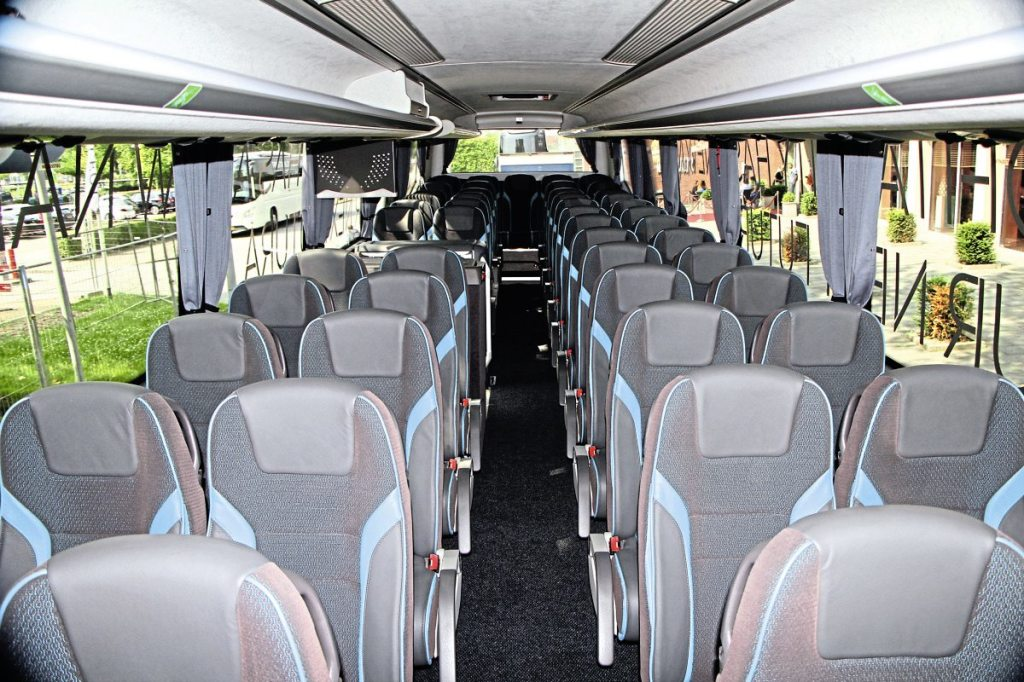 The interior of the German specification Futura FHD2 in which I travelled