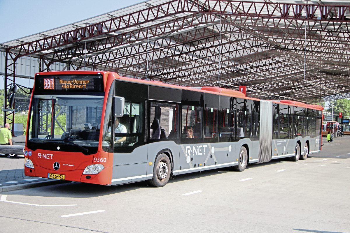 Transdev Connexxion's contract requires a transition from diesel to electric