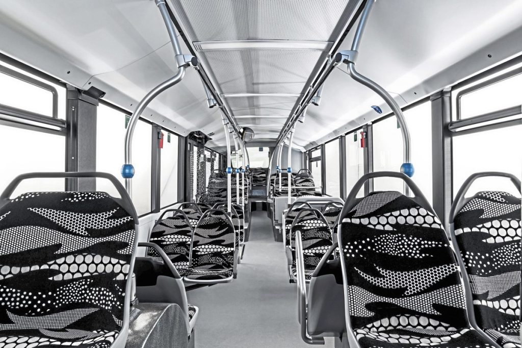 Although specifically and exclusively developed for the eCitaro, the new interior is to be carried over to other members of the Citaro family
