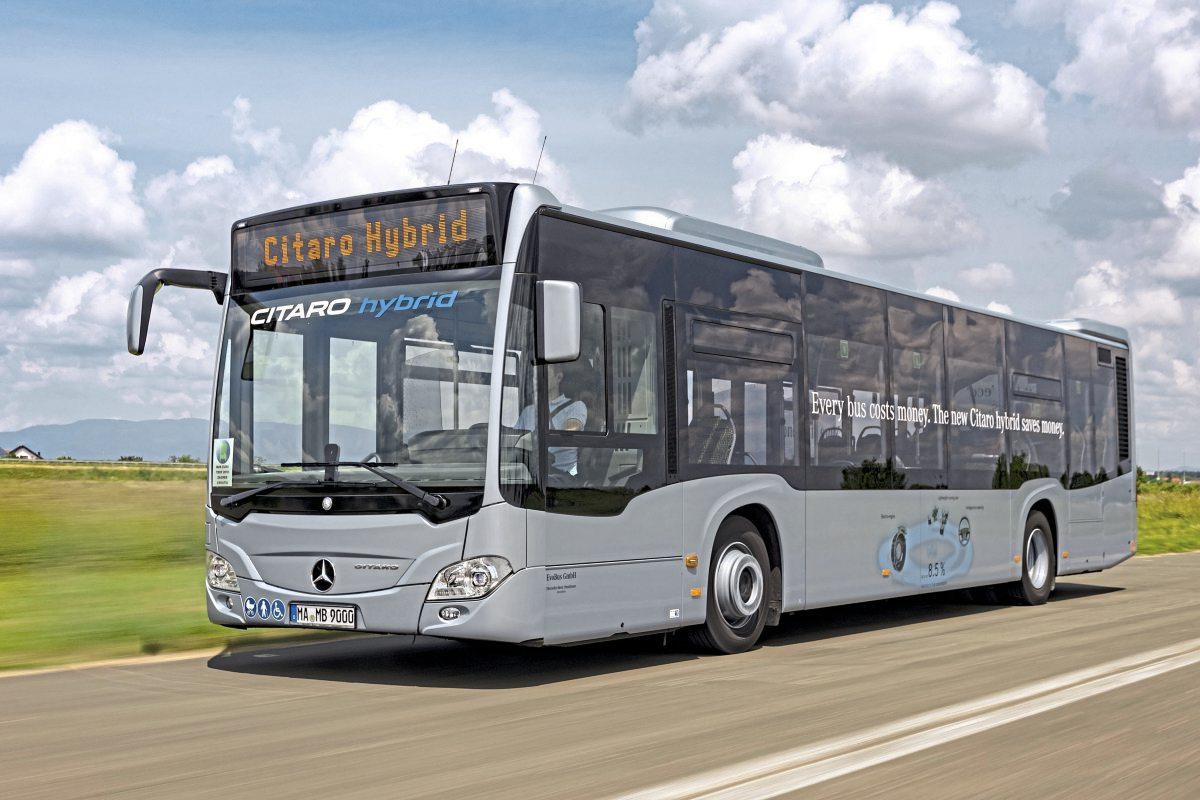 Mercedes-Benz Citaro Hybrid - Bus Euro Test 2018 - Bus & Coach Buyer