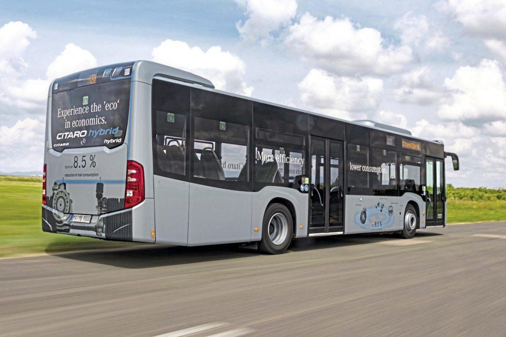 Bus Euro Test 2018 Zagreb Croatia Mercedes-Benz Citaro hybrid