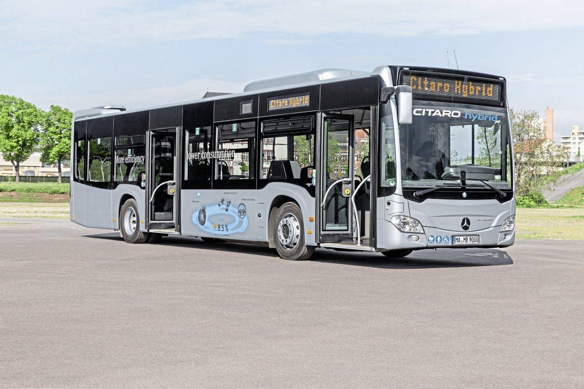 Mercedes-Benz Citaro Hybrid - Bus Euro Test 2018 - Bus ...