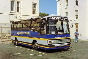 Reynolds operated this Bedford YMP Plaxton Paramount back in 1994