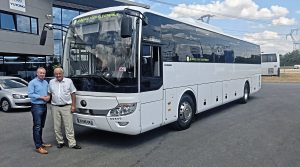 Westway buys first Yutong electric coaches