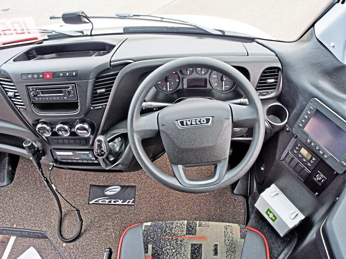 We road test the Iveco Daily-based Ferqui SR