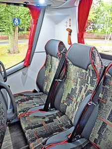 'Cosy' rear row of seats