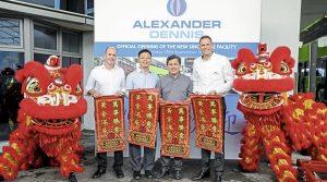 Alexander Dennis Ltd sets up in Singapore