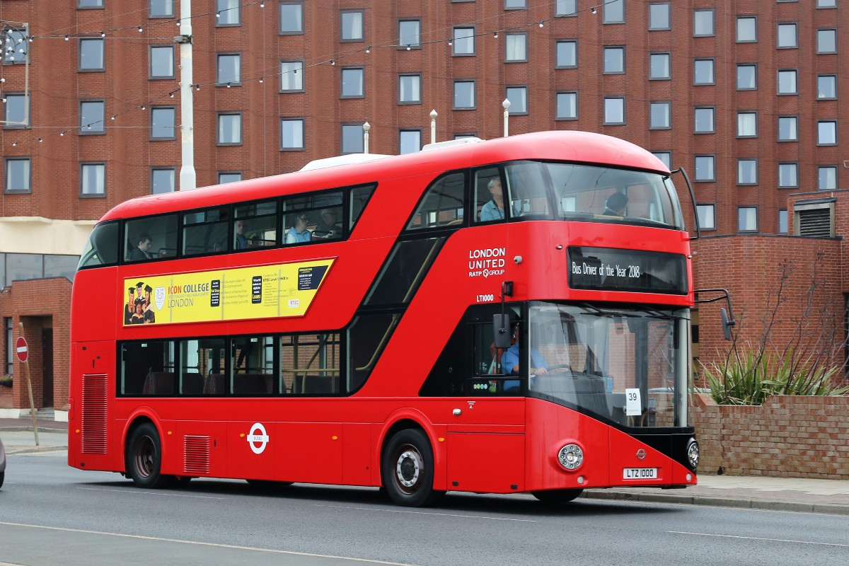 RATP New Routemaster Competitor 39