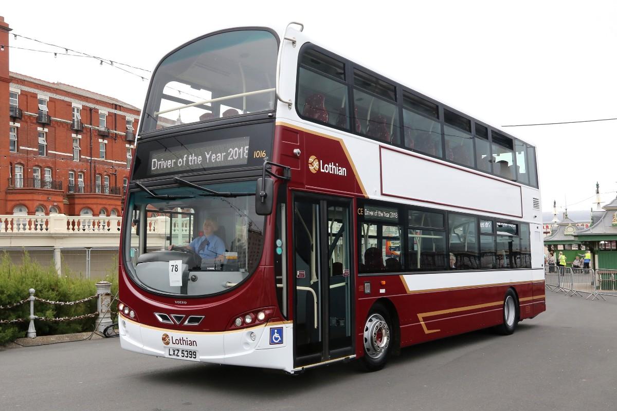 Lothian Wright Gemini Volvo B9TL refurb