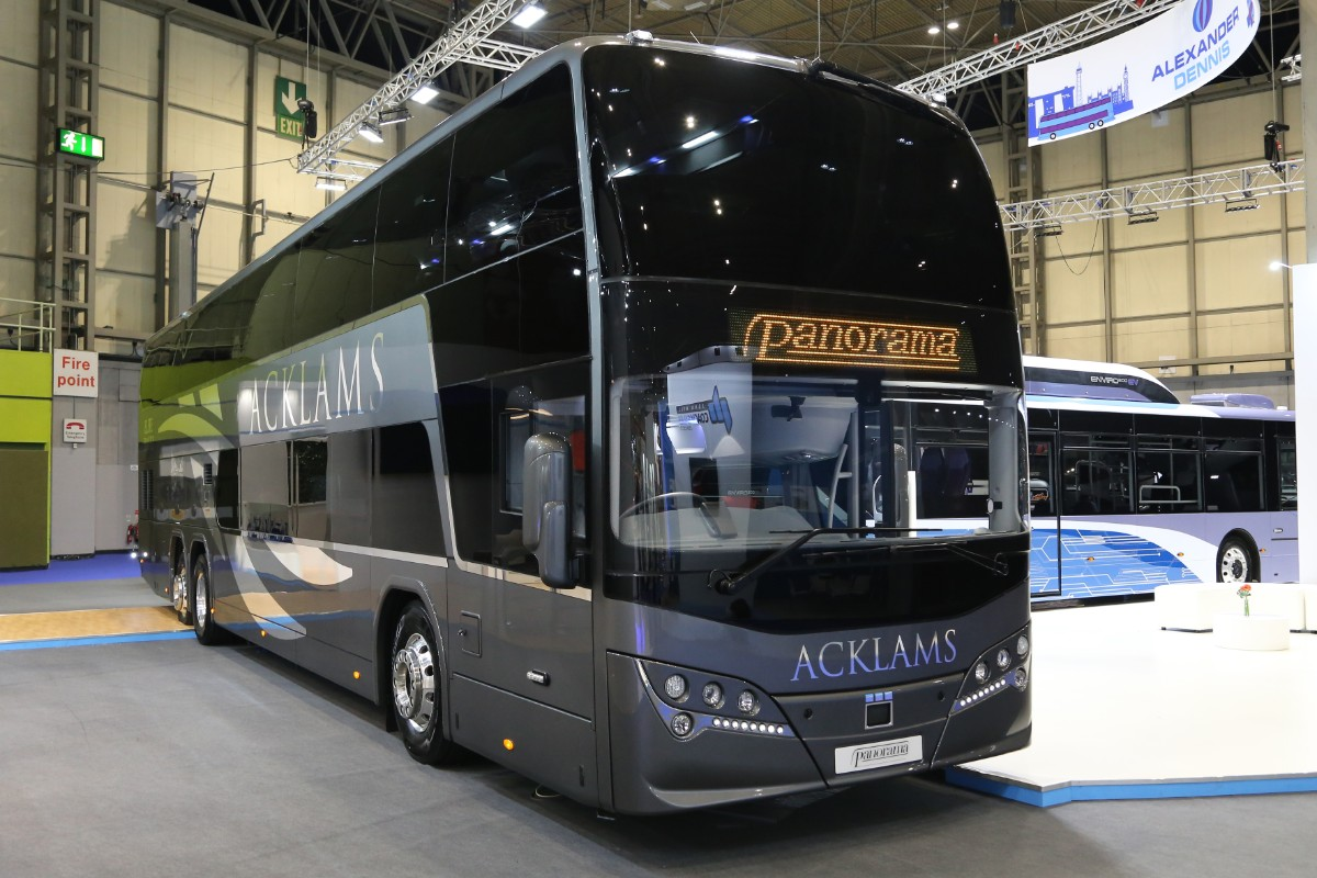 ADL Volvo Plaxton Panorama for Acklams