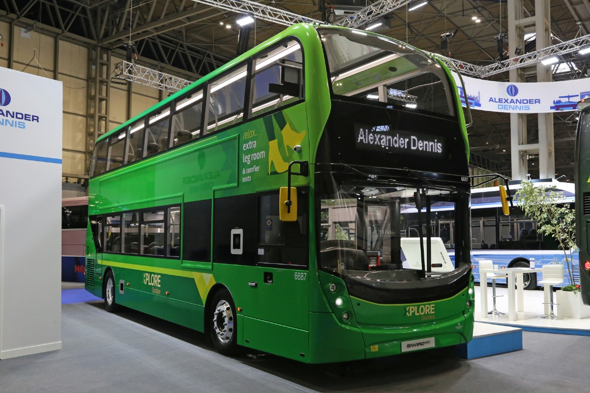 ADL Enviro 400 MMC for Xplore Dundee