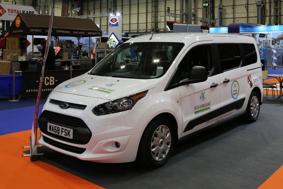 London Hire Ford Transit Connect