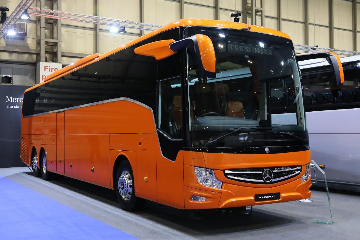 MB Tourismo 3 axle