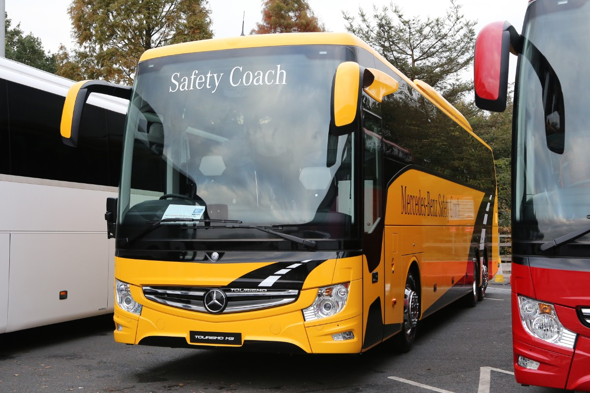 MB Tourismo 3 axle safety coach
