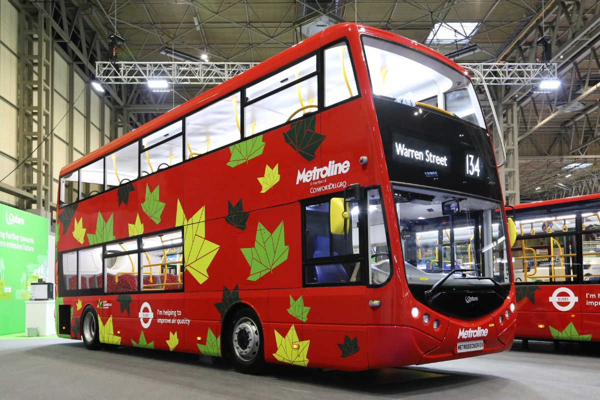 Optare Metrodecker electric for Metroline