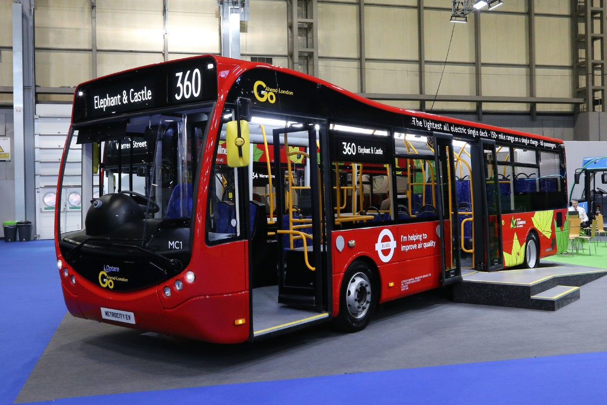 Optare Metrocity electric for GoAhead London