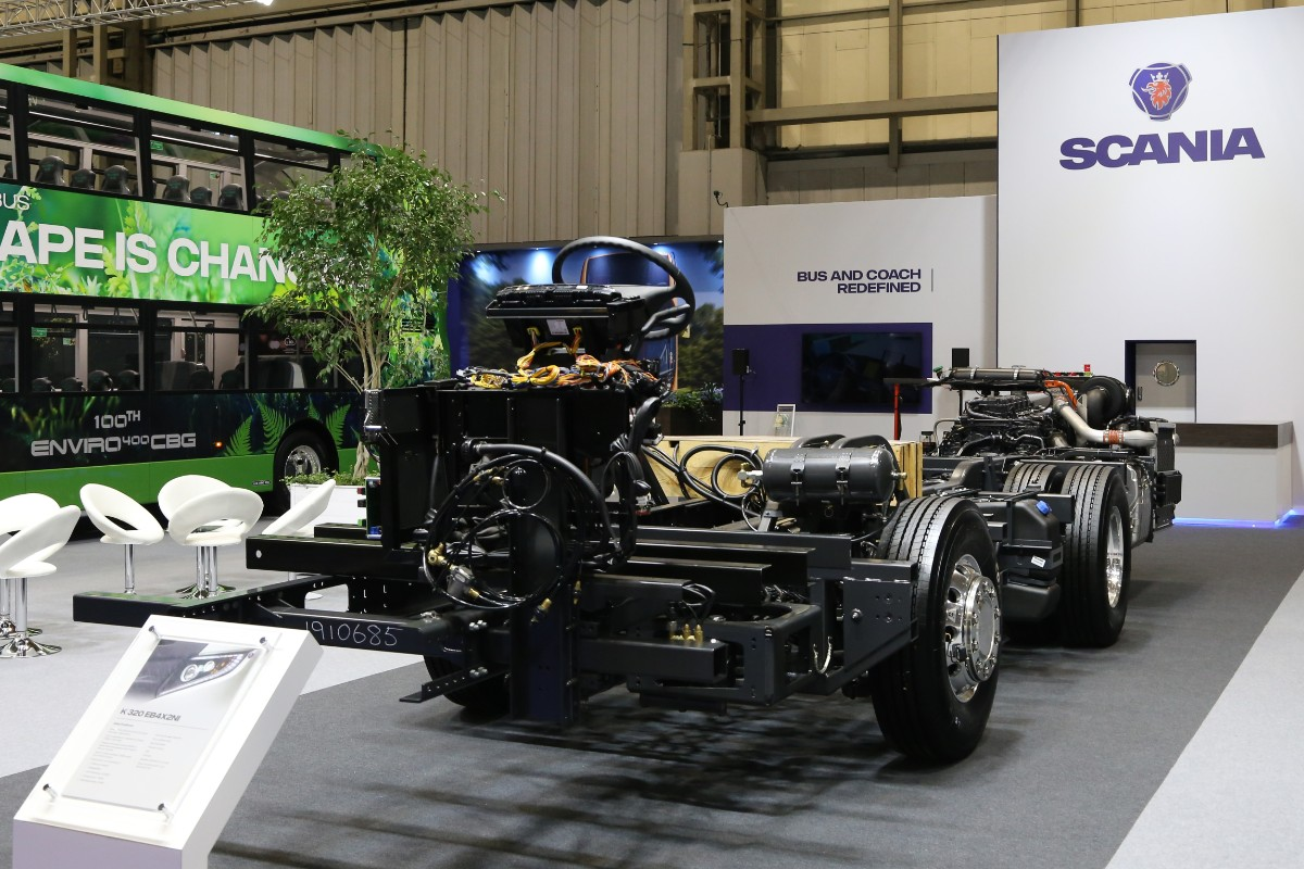 Scania K320 chassis
