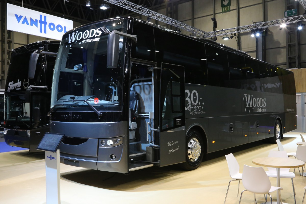 Van Hool EX16 for Woods
