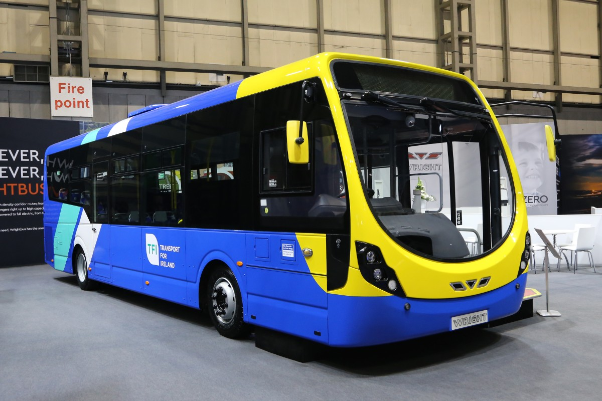 Wrightbus Streetlite for Transport for Ireland