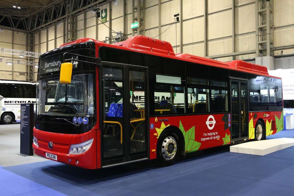 Yutong E12 electric