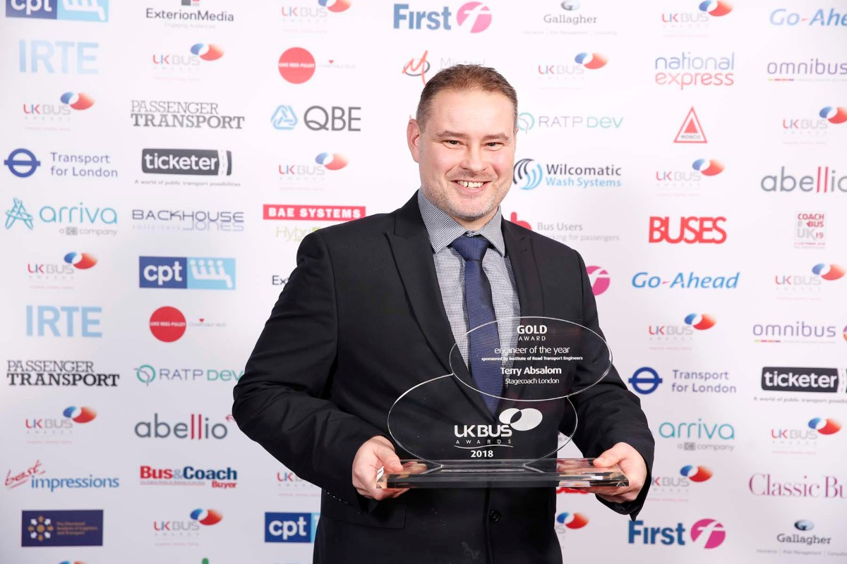 Engineer of the Year, Terry Absalom, Stagecoach London
