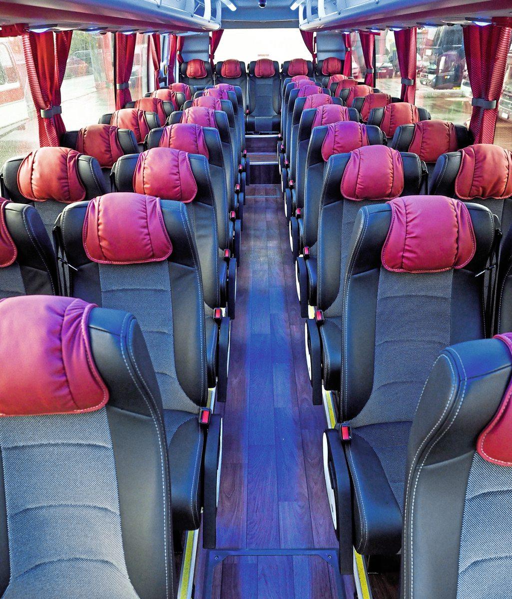 Nice passenger environment