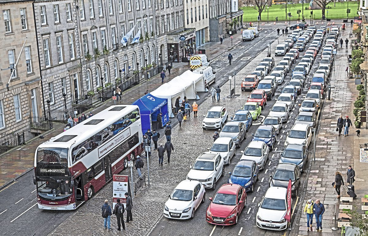 Lothian Bus 'greener' with Bus2020 project
