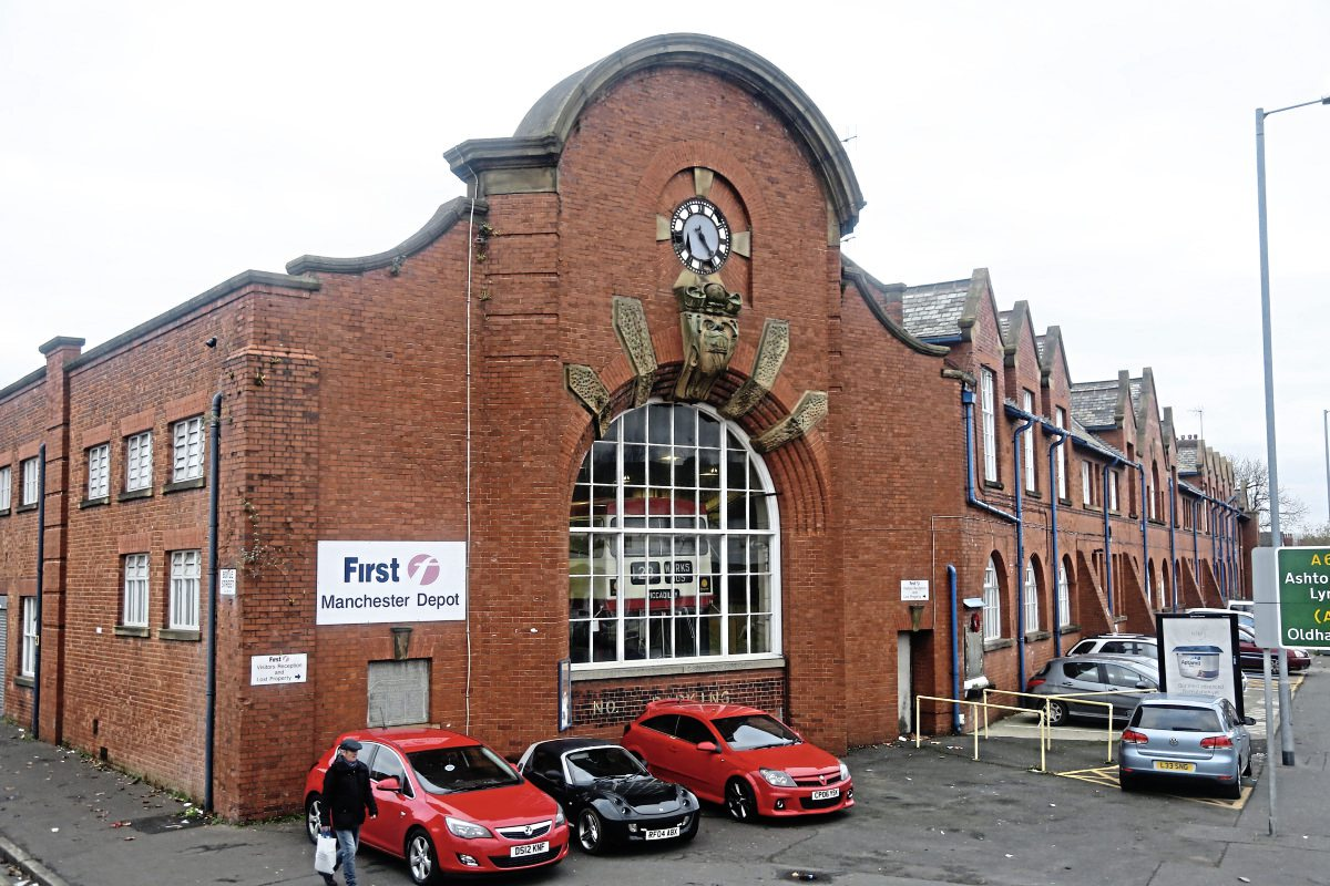 First to sell Manchester depot to Go-Ahead