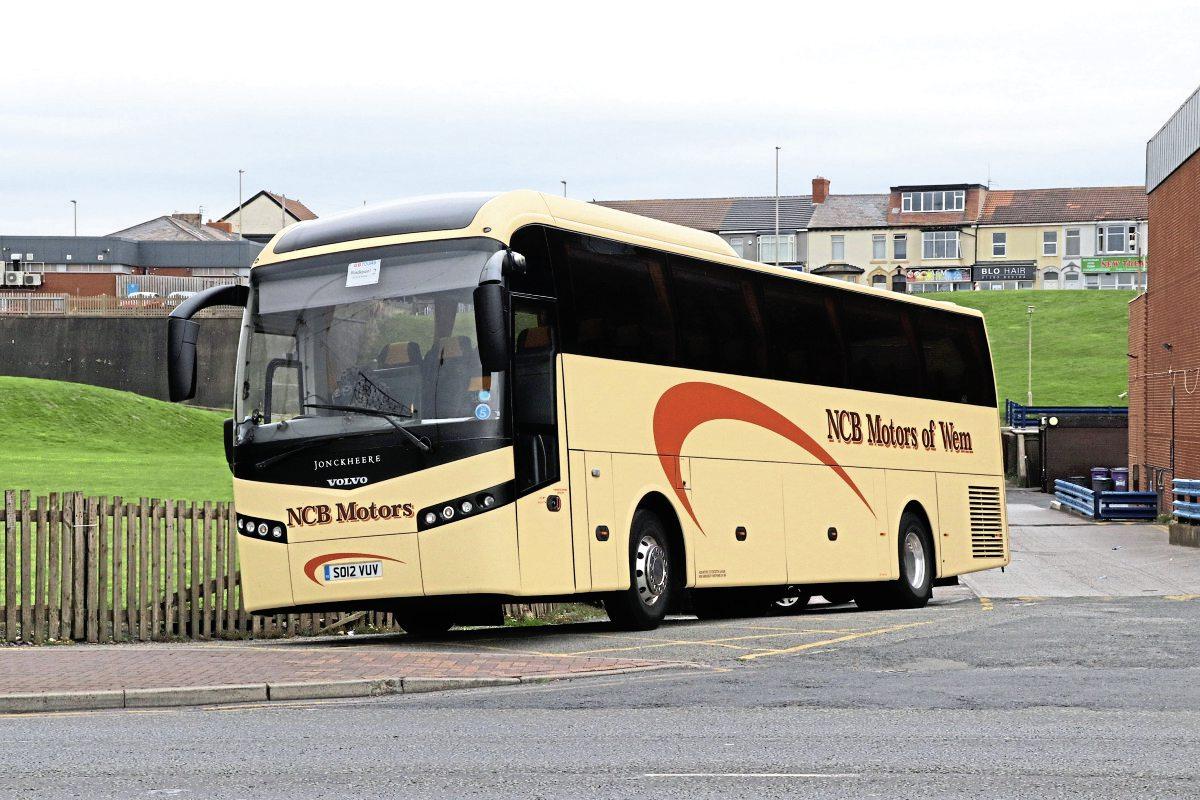 Lakeside Coaches takes on NCB Motors of Wem