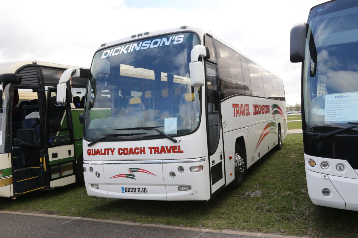 Dickinsons Volvo B10B Plaxton Panther