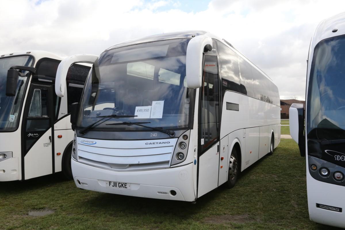 Volvo Caetano Levante 70-seat - John Hill Coach Sales