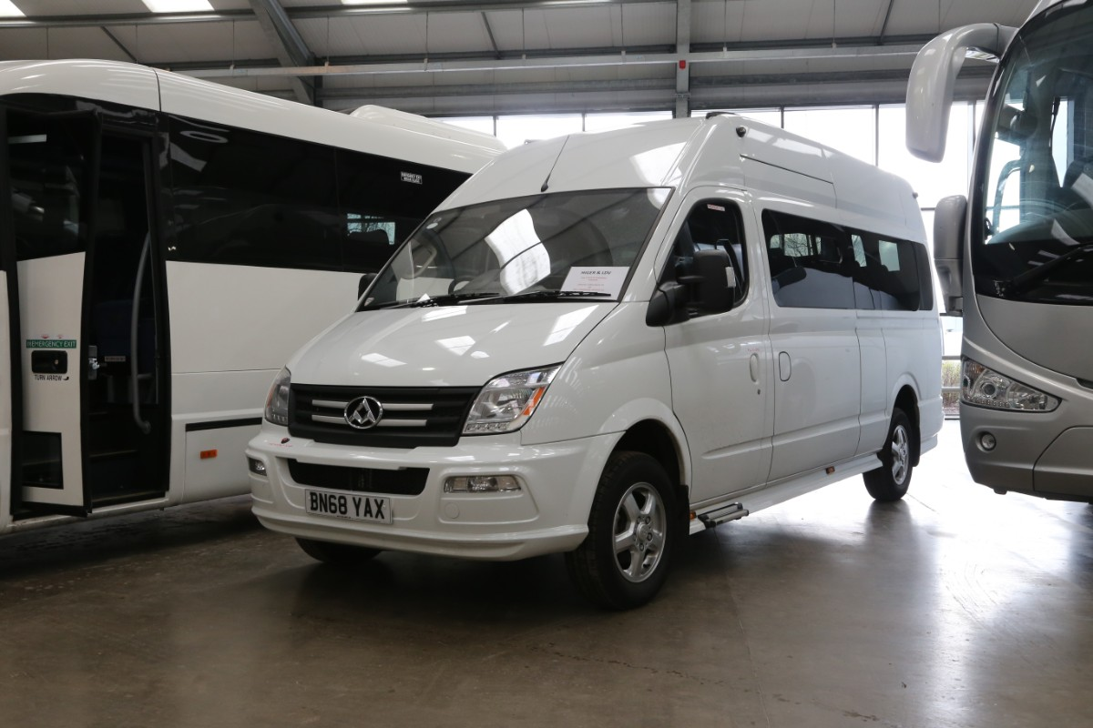 New LDV minibus - John Hill Coach Sales/RWT