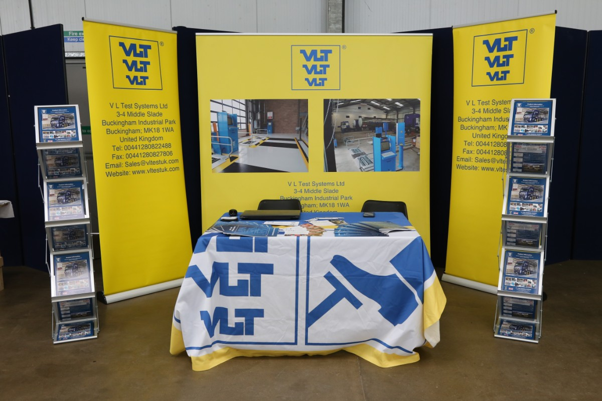 VL Test Systems stand