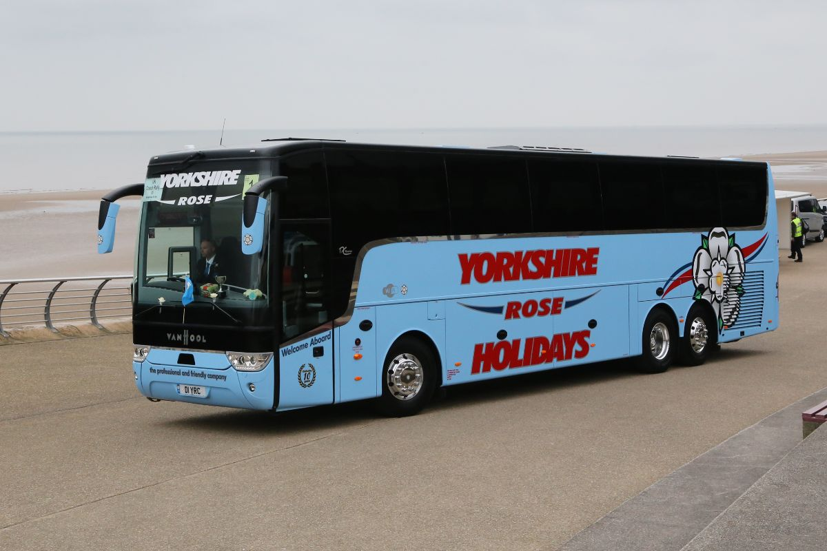 Van Hool TX16 Acron - Yorkshire Rose Coaches