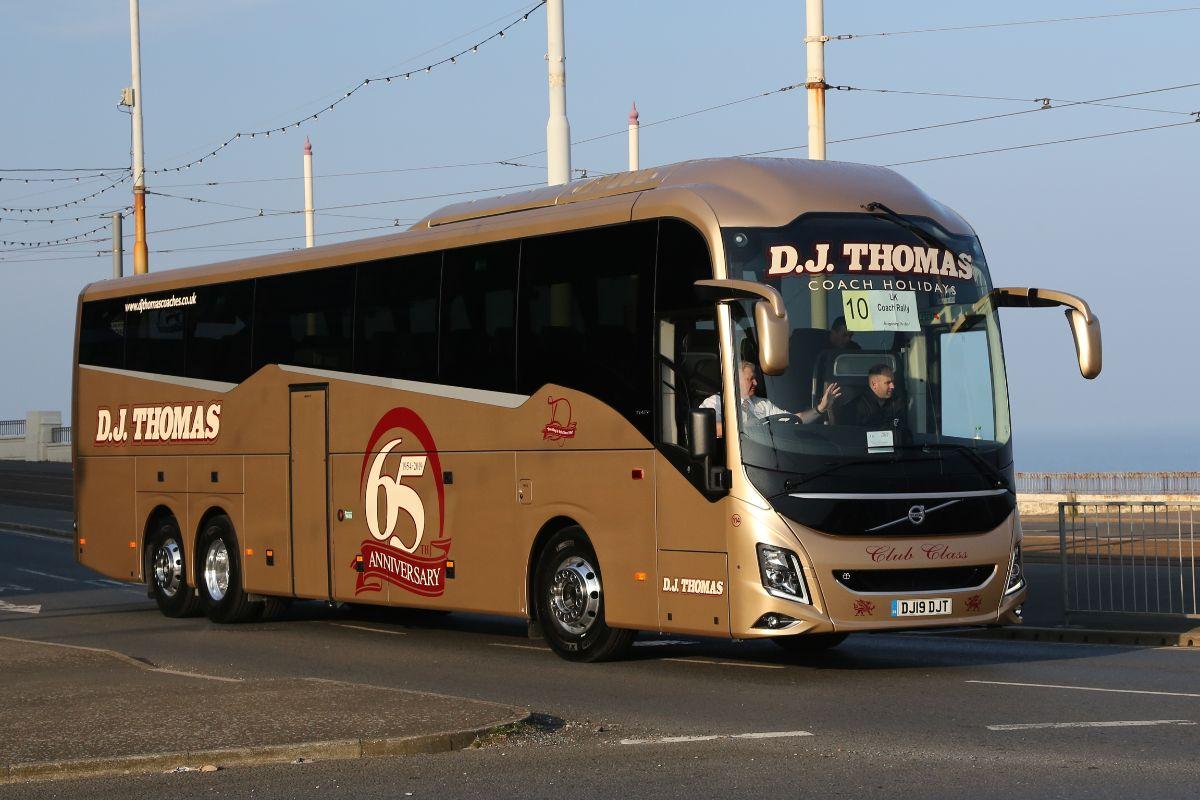 Volvo 9900 - D J Thomas
