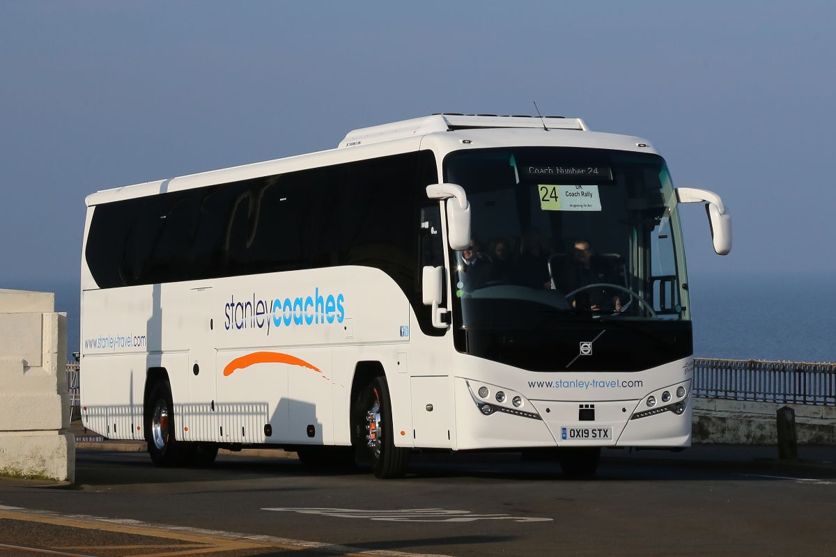 Volvo B8R Plaxton Panther - Stanley Coaches