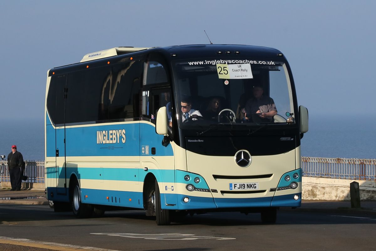Mercedes-Benz Atego Plaxton Cheetah - Ingleby's Luxury Coaches