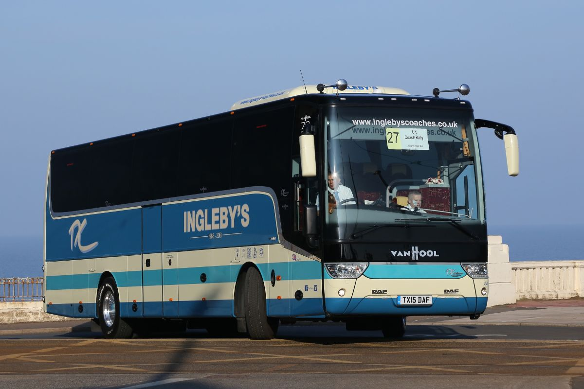 Van Hool TX15 Alicron - Ingleby's Luxury Coaches