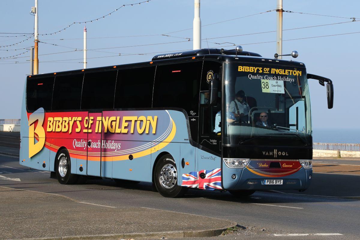 Van Hool TX15 Alicron - Bibbys of Ingleton