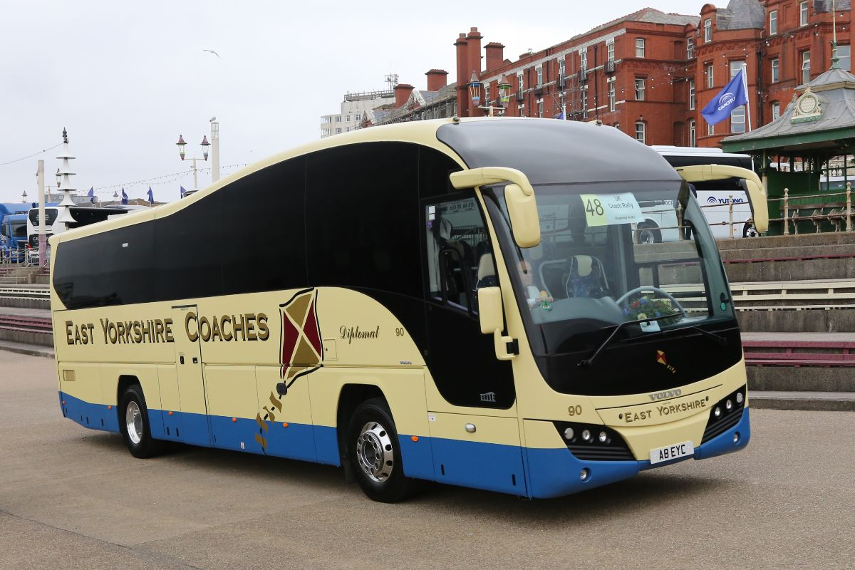 Volvo B9R Plaxton Elite - East Yorkshire Coaches