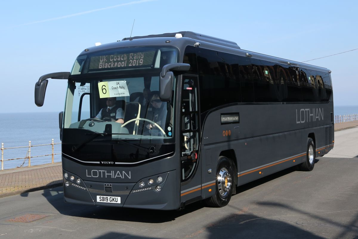 Volvo B11R Plaxton Panther - Lothian Motorcoaches