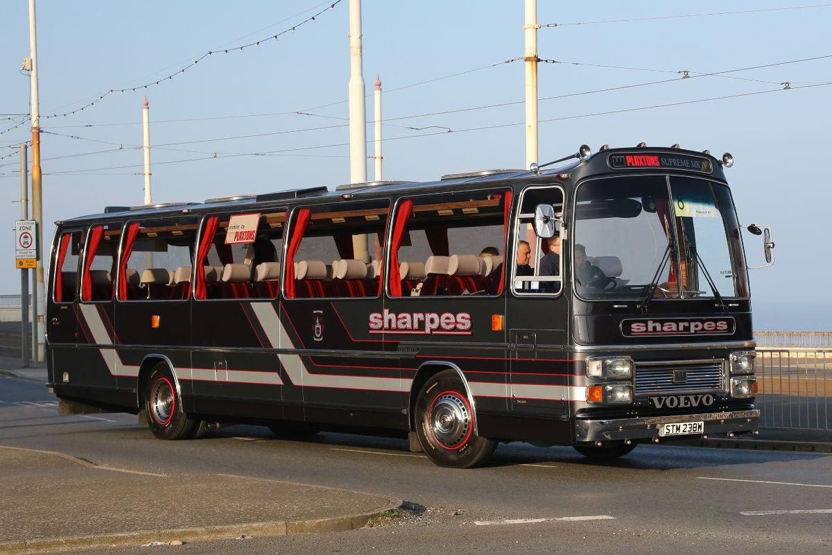 Volvo B58 Plaxton Supreme - Sharpes