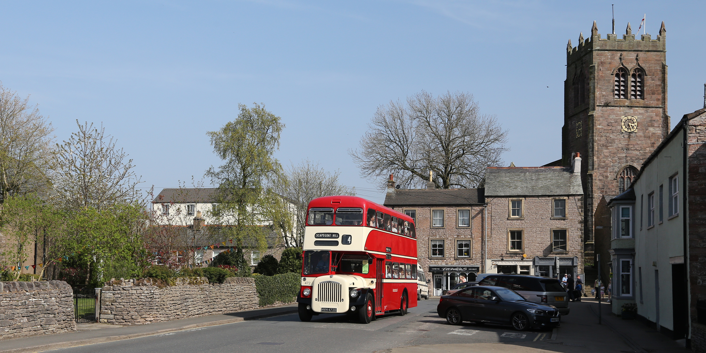 Easter bus gift for Cumbria