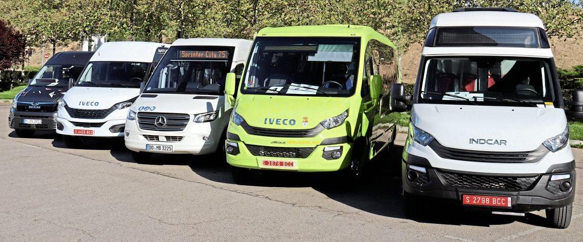 Minibus Euro Test 2019