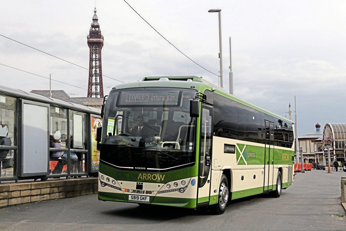 Green Arrow targets Blackpool Rally