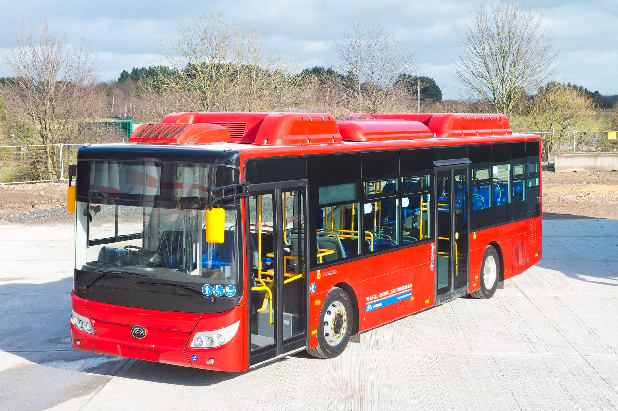 First order for Yutong electric E10 for Go North East